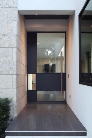 外景灰色外墙现代风格装饰图片