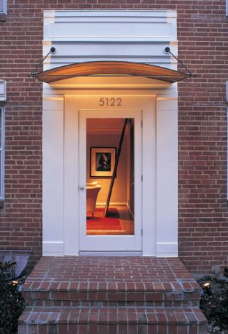 玄关门厅现代风格装潢效果图