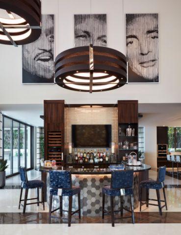 厨房吧台现代风格装饰图片