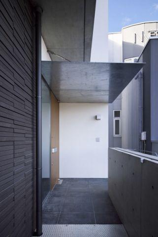外景外墙现代风格装潢图片