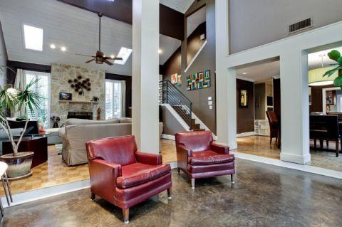 客厅沙发现代风格装潢设计图片