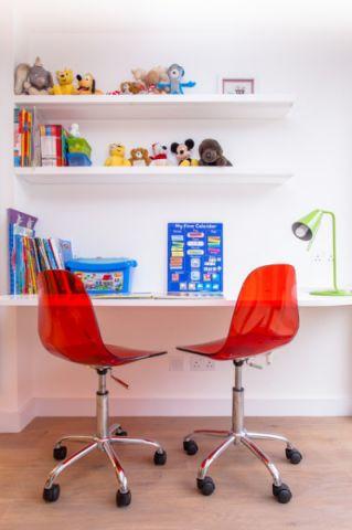 儿童房书架现代风格装修设计图片