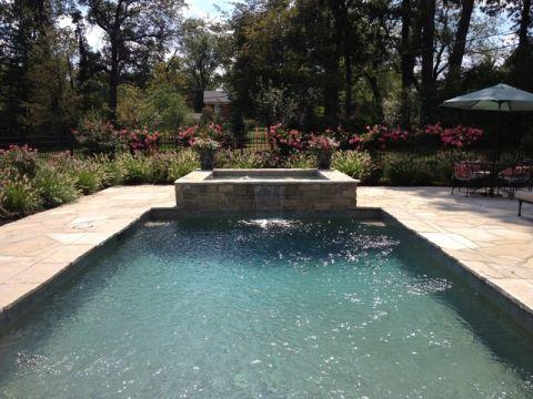 外景泳池美式风格装修设计图片