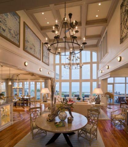 客厅灯具简欧风格装饰效果图