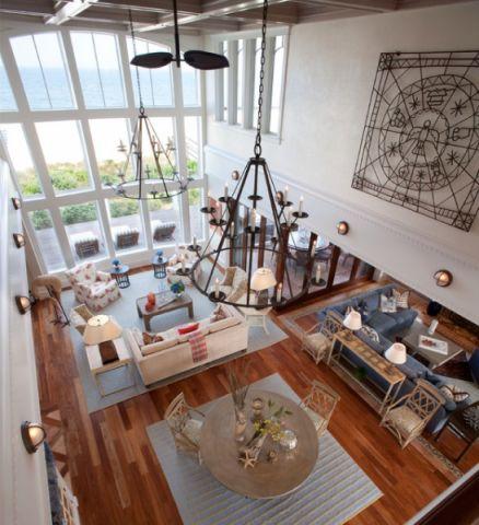 客厅地砖简欧风格装修设计图片