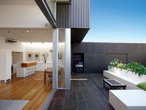 阳台走廊简欧风格装饰效果图