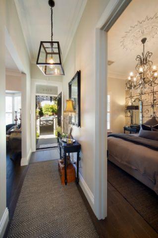 客厅走廊简欧风格装饰设计图片