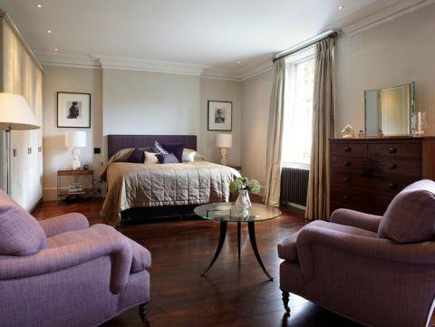 卧室床简欧风格装修图片