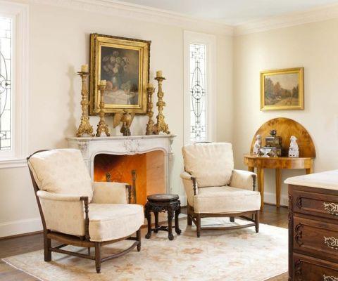 客厅沙发简欧风格装潢设计图片