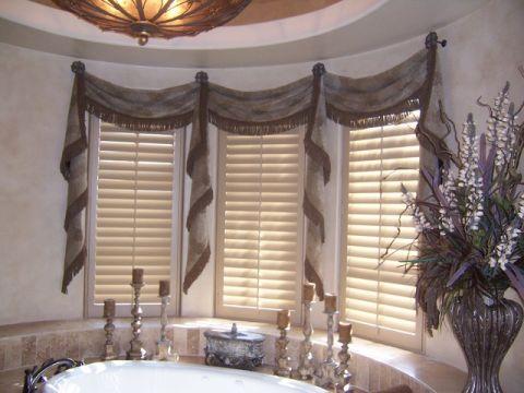 浴室窗台简欧风格装修效果图