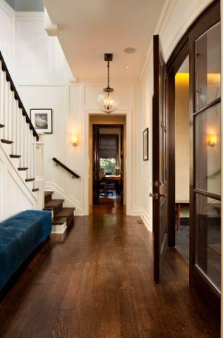 玄关走廊简欧风格装潢设计图片
