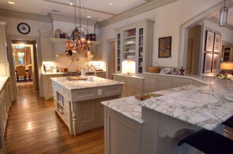 厨房厨房岛台简欧风格效果图