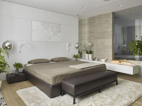 卧室灰色细节现代风格效果图