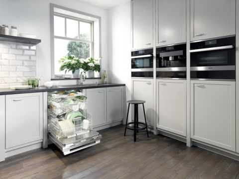 厨房橱柜现代风格装修设计图片