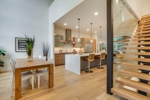 厨房吧台现代风格装潢设计图片