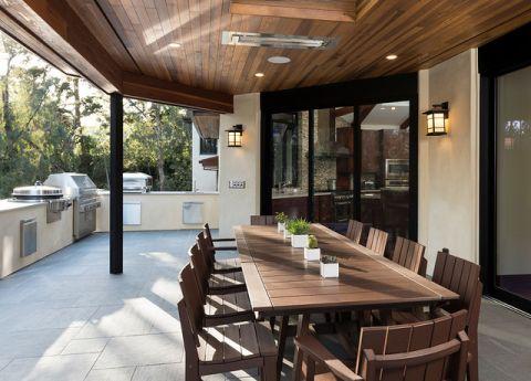 阳台白色细节现代风格装饰图片