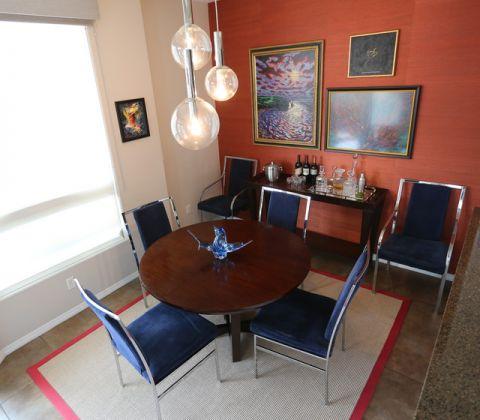 餐厅细节混搭风格装饰设计图片