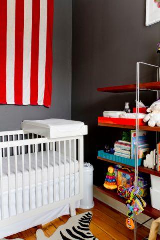 儿童房混搭风格效果图大全2017图片_土拨鼠清爽清新儿童房混搭风格装修设计效果图欣赏