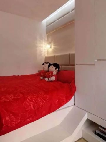 卧室门厅现代简约风格装饰效果图