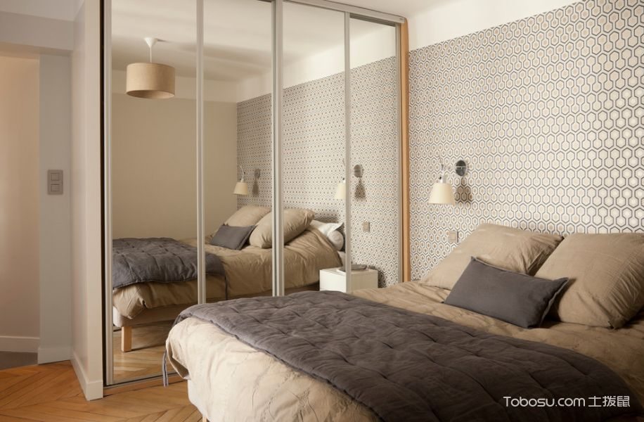 卧室北欧风格装修图片