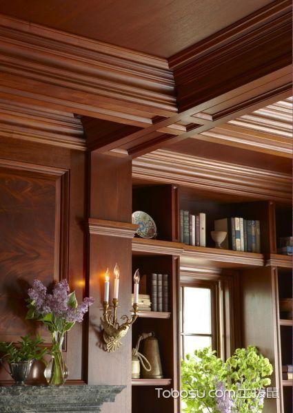 书房美式风格装潢设计图片