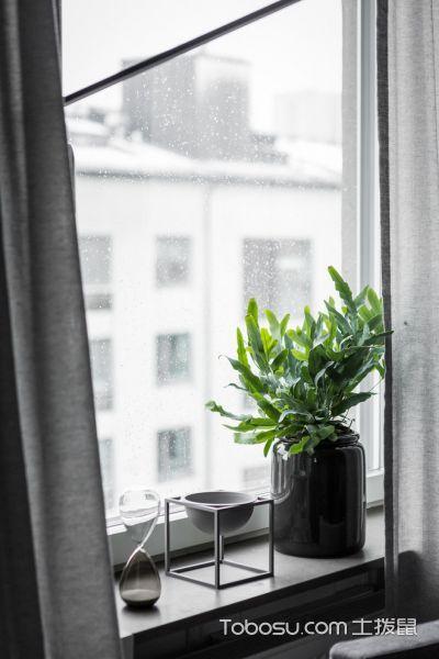 客厅灰色细节现代风格效果图
