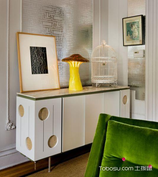 客厅灰色背景墙混搭风格装饰效果图