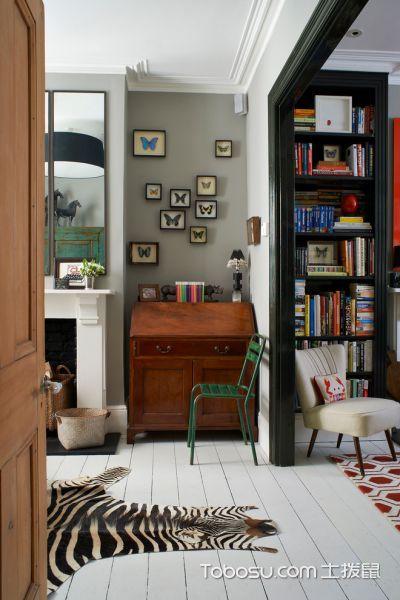 书房混搭风格装潢设计图片