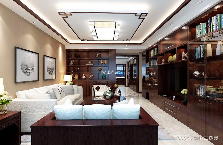 18万预算160平米三室两厅装修效果图