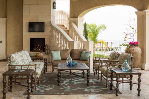 地中海风格别墅300平米装饰图