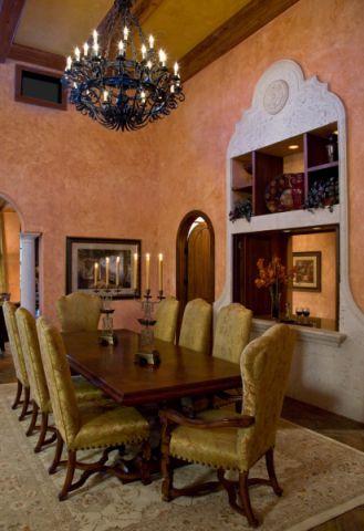 餐厅地中海风格装饰设计图片