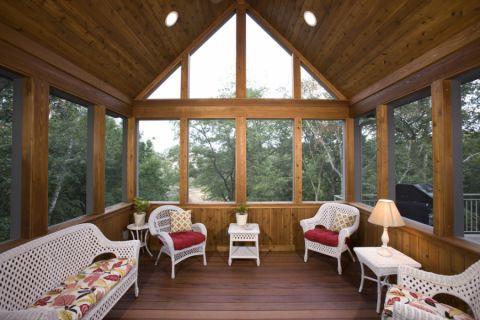 295平米别墅美式风格设计图