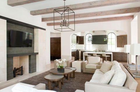 220平米楼房现代风格装修图片