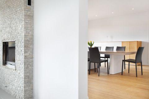 客厅隔断现代风格装修图片