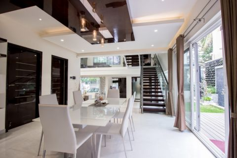 现代风格别墅245平米装修图片