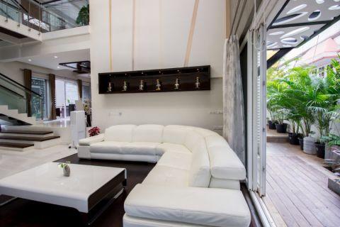 客厅沙发现代风格装潢图片