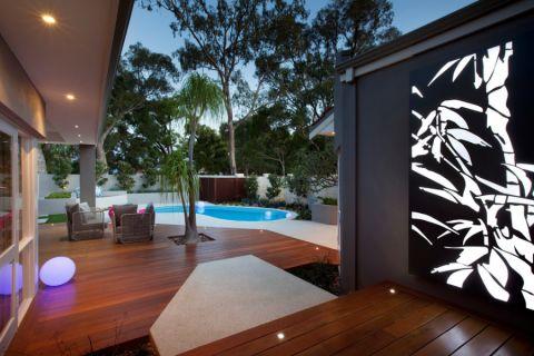 阳台走廊现代风格装饰图片