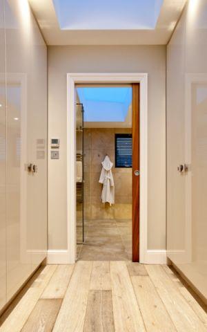 浴室推拉门现代风格装饰图片