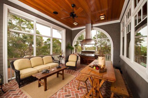 美式风格别墅283平米装修图片