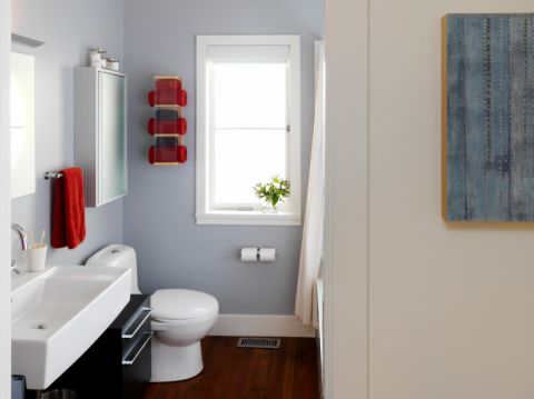 浴室窗台现代风格装修图片