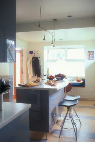厨房厨房岛台现代风格装饰设计图片