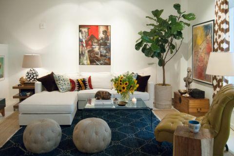 112平米套房混搭风格装修图片
