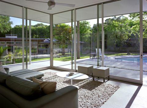 阳光房推拉门现代风格装修效果图