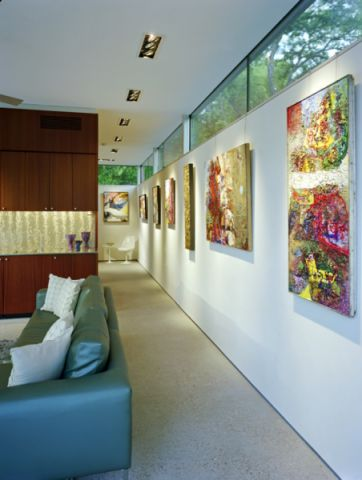 阳光房走廊现代风格装潢效果图
