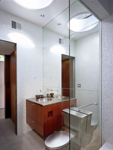 浴室隔断现代风格装饰图片