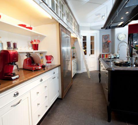 厨房走廊混搭风格装潢效果图