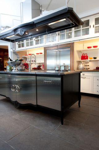厨房厨房岛台混搭风格装修图片