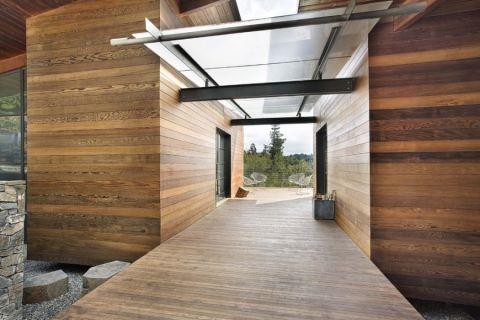 外景走廊现代风格装饰设计图片