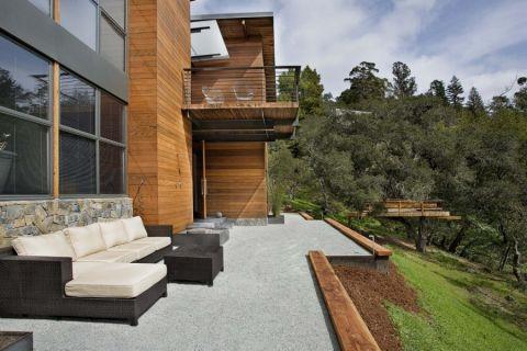 阳台沙发现代风格效果图