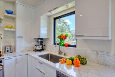 厨房窗台现代风格装饰效果图